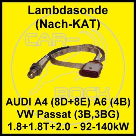 lambdasonde nach lambdasonde nach audi a4 8e 1 8t 110 140kw ebay