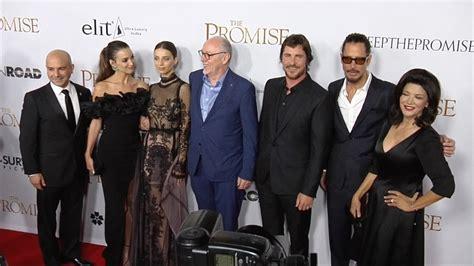 Christian Bale Cast The Promise Premiere Red Carpet