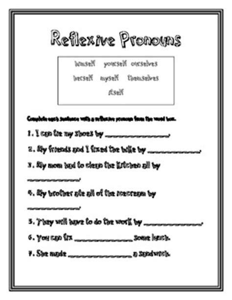 2nd Grade » Pronoun Worksheets 2nd Grade  Printable Worksheets Guide For Children And Parents