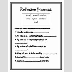 Reflexive Pronouns  2nd Grade Common Core By Heather Ramsey Tpt