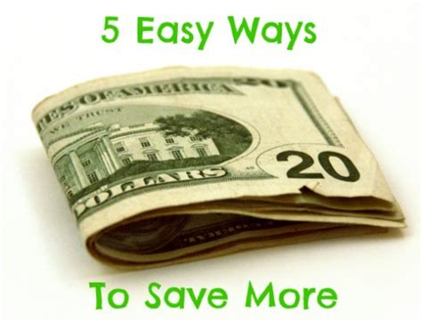 5 Easy Ways To Save More Money  The Peaceful Mom