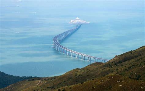 hong kong macau bridge world s sea bridge to open after 9 years of