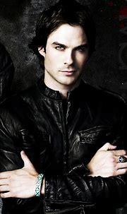 The Vampire Diaries Damon Salvatore Washing Wrinkle ...