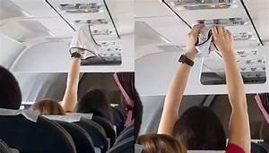 Woman Filmed Drying Underwear On Plane Air Conditioning