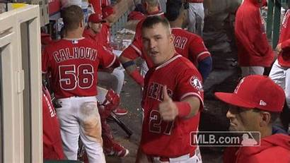 Mike Trout Mlb Gifs Sports Angels Giphy