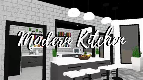 Modern Kitchen|speedbuild|welcome To Bloxburg|roblox