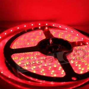 Ruban Led Rouge : ruban led 300 led rouge smd 3528 12v 24w etanche ip65 5 metres ~ Edinachiropracticcenter.com Idées de Décoration