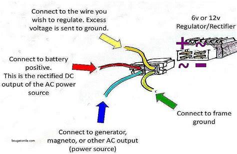 result for 12v rectifier regulator wiring diagram wiring schematics wire diagram map