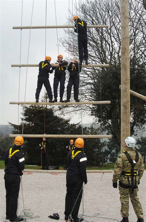 leadership training  naval airmen  britannia royal