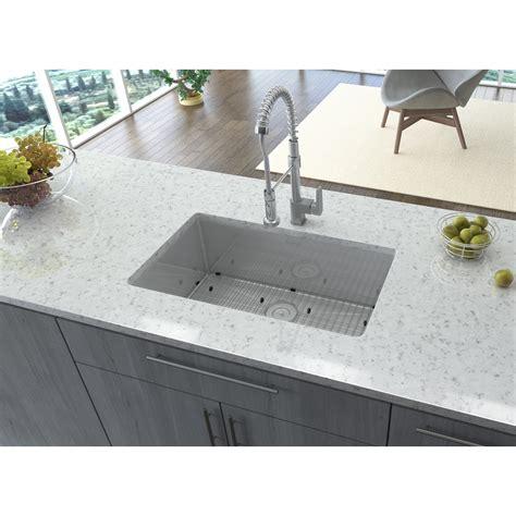28 inch kitchen sink ruvati 28 inch undermount 16 tight radius stainless 3848