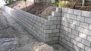 Prix D Un Mur En Parpaing : r aliser un mur en parpaings bricolage facile ~ Dailycaller-alerts.com Idées de Décoration