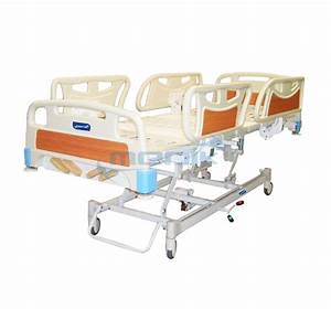 Lux 5 Functions Manual Hospital Bed With Abs Railing And