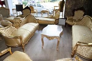Casa Padrino Barock Sofa Vampire Zebra Schwarz Mbel