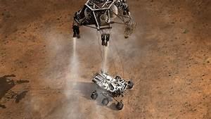 Curiosity Rover's Mars Landing - WallDevil