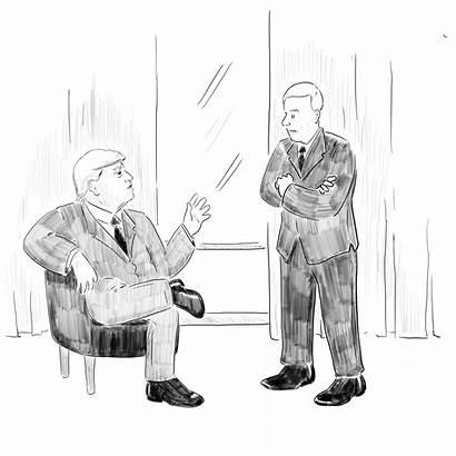 Cartoon Trump Inauguration Yorker Apprentice Emergency Cartoons
