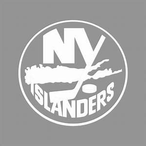 New York Islanders NHL Team Logo 1Color Vinyl Decal Sticker Car Window Wall eBay