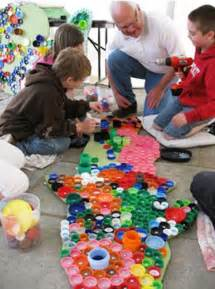 Crafts with Bottle Caps for Kids