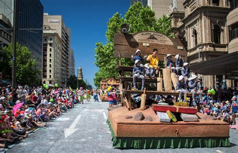 credit union christmas pageant adelaide by dave walsh