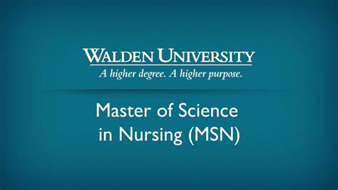 masters  nursing msn  nursing education
