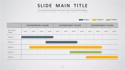 Time Schedule Template Powerpoint by Road Powerpoint Template By Pello1103 Graphicriver