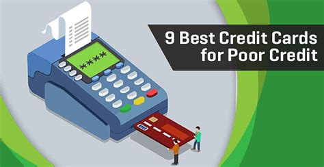 9 Best Credit Cards For Poor Credit (2019's Top Bad Credit