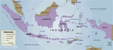 indonesia country map  mapsofnet