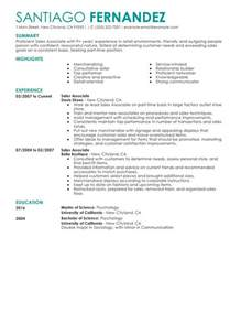 Retail Associate Resume Template Unforgettable Part Sales Associates Resume Exles To Stand Out Myperfectresume