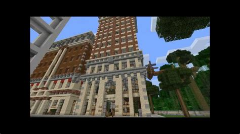 minecraft showcase    square tower youtube
