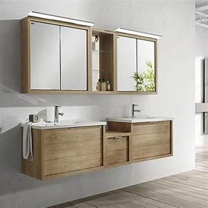 Meuble 200 doble seno tino avec sous vasque valenzuela for Meuble salle de bain 200