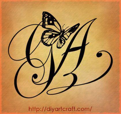 tatuaggi lettere m g ag letters designs by diyartcraft tags