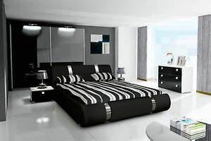 Schlafzimmer Komplett Set : komplett schlafzimmer set hochglanz schwarz kleiderschrank ~ Watch28wear.com Haus und Dekorationen