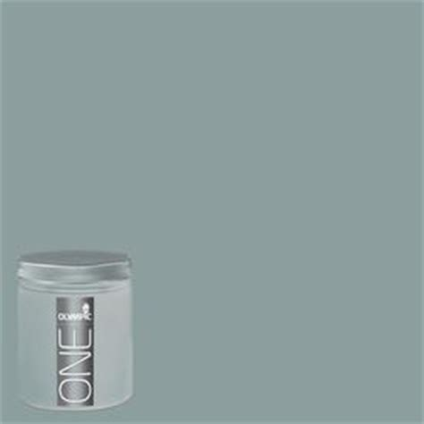 shop olympic 8 oz aqua smoke interior satin paint sle