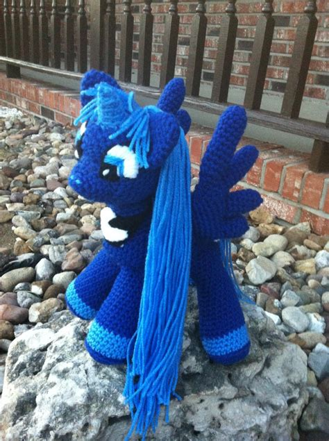 pony princess luna   pony nanas crochet shoppe