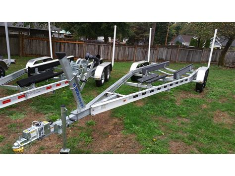 Aluminum Float On Boat Trailers by 2016 Venture 6000 Aluminum Boat Trailer Powerboat For