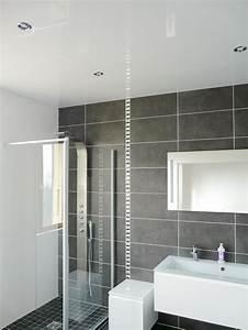 salles de bain With moulure plafond salle de bain