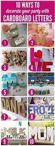 In the corner glitter and cardboard letters on pinterest for Glitter cardboard letters