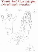 Crackers Drawing Coloring Fire Getdrawings Printable sketch template