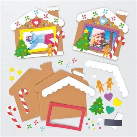 fabriquer cadre souvenirs noel idee creative enfant kit avec materiel pour cadre de noel