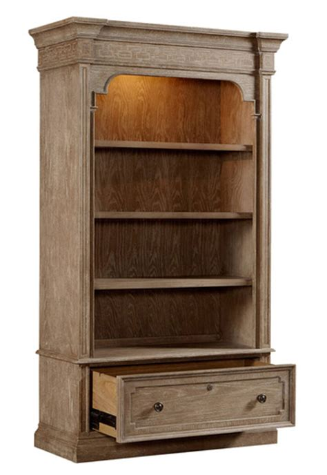 Lateral File Bookcase by Wethersfield Estate Lateral File Bookcase In Oak By