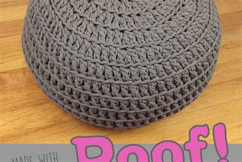 crochet pouf ottoman pattern free free crochet pattern poof floor pillow pouf ottoman gleeful things ottomans floor pillows