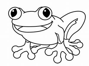 How to Draw a Frog Cartoon