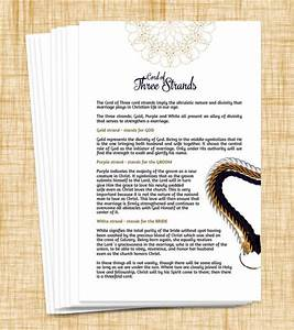 Explanation cards for god39s wedding knot ecclesiastes 4 for Wedding cards god images