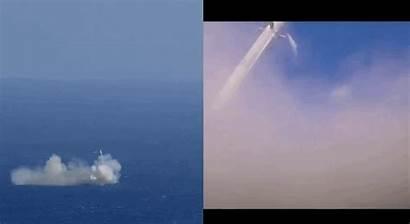 Spacex Falcon Crash Rocket Landing Land Explode
