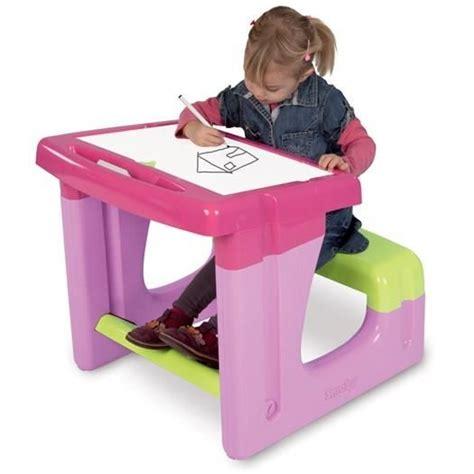 bureau bebe fille smoby bureau enfant petit ecolier achat vente