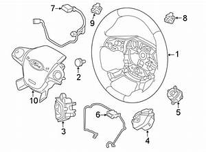 Ford Focus Steering Wheel Wiring Harness  2015 O Rs