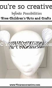 White Tiger   Arts and crafts for kids, Craft projects for ...