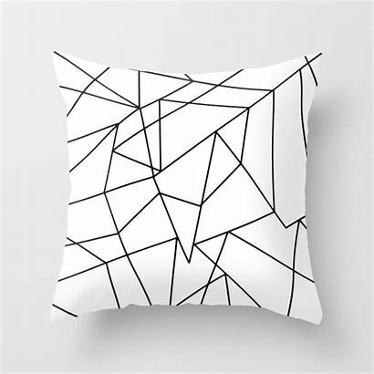 Geometric Pattern Simple Modern Pillows Pillow Throw