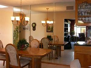 Decorate dining rooms with large mirrors large dining room for Large dining room mirrors