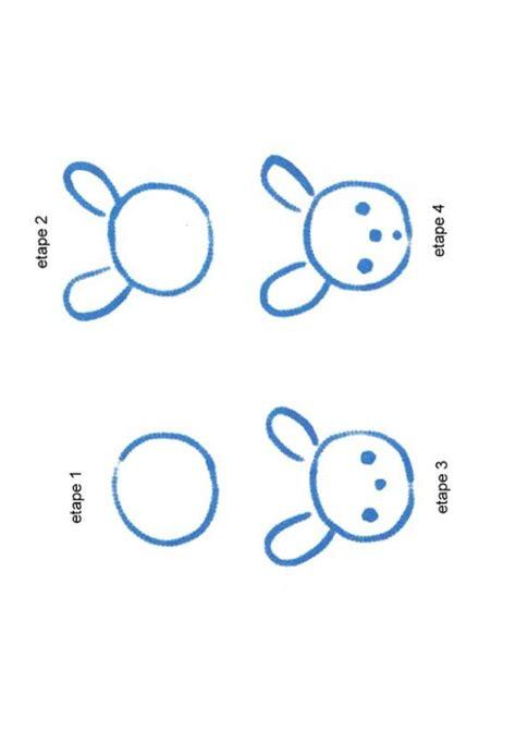 comment cuisiner un lapin une tete de petit lapin dessin dessiner apprendre à