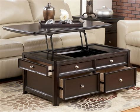 almost black espresso contemporary lift top cocktail coffee table modern living ebay